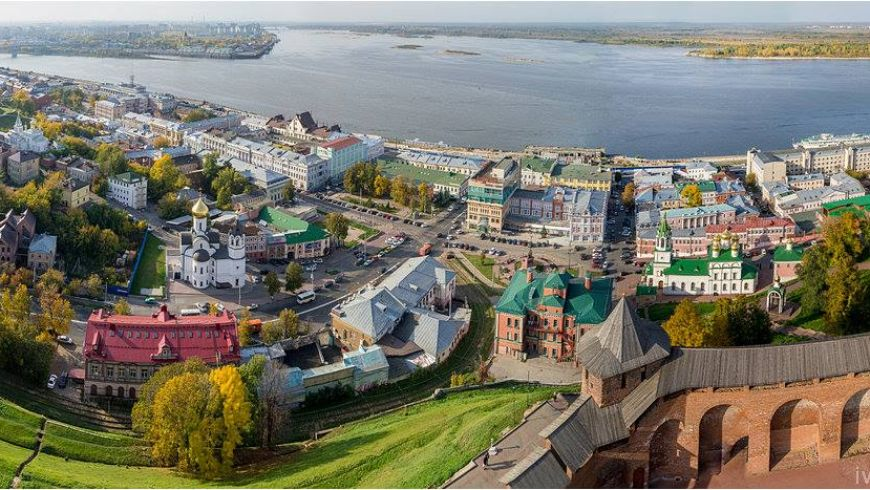 Нижегородский кремль за 2