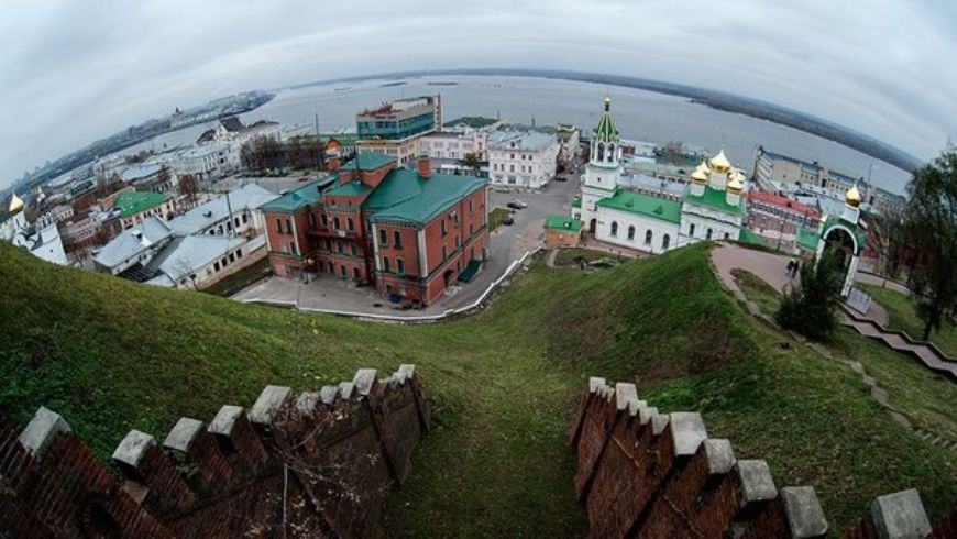 Нижний новгород город на слиянии
