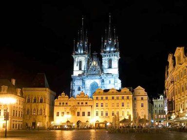 Мистическая Прага, или прогулка с паном Скелетом!