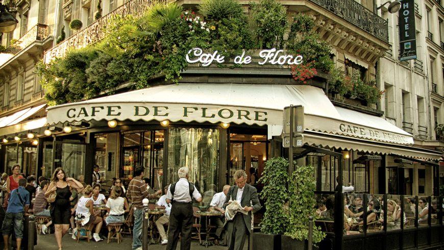Экскурсия в париже литературные кафе