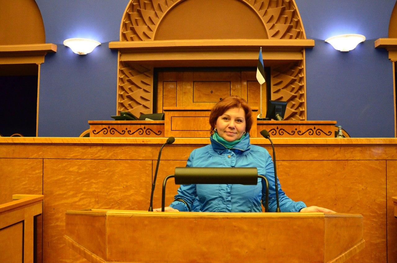 Частный гид экскурсовод по Таллину Наталия