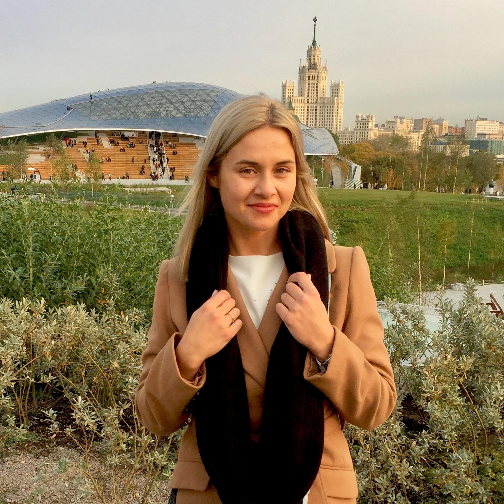 Частный гид экскурсовод по Москве Daria