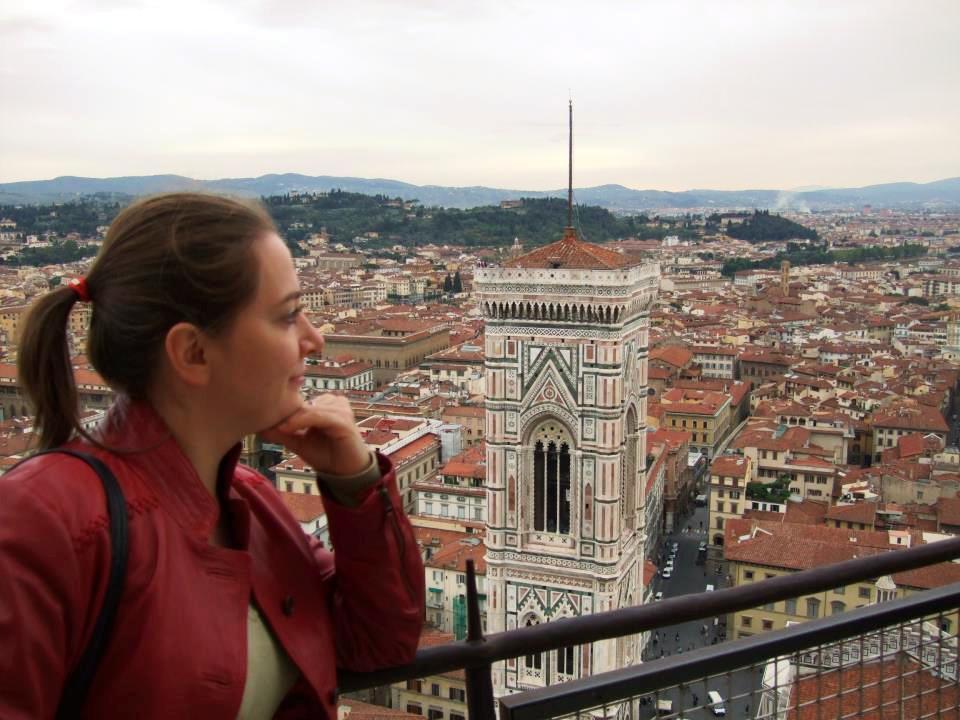Частный гид экскурсовод по Флоренции Марина