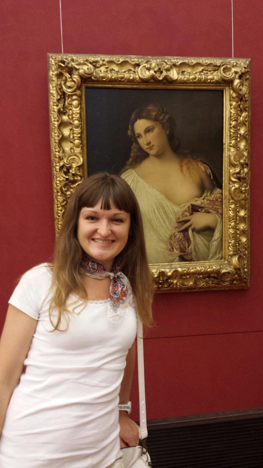 Частный гид экскурсовод по Флоренции Мария