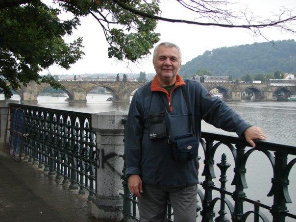 Частный гид экскурсовод по Праге Валерий