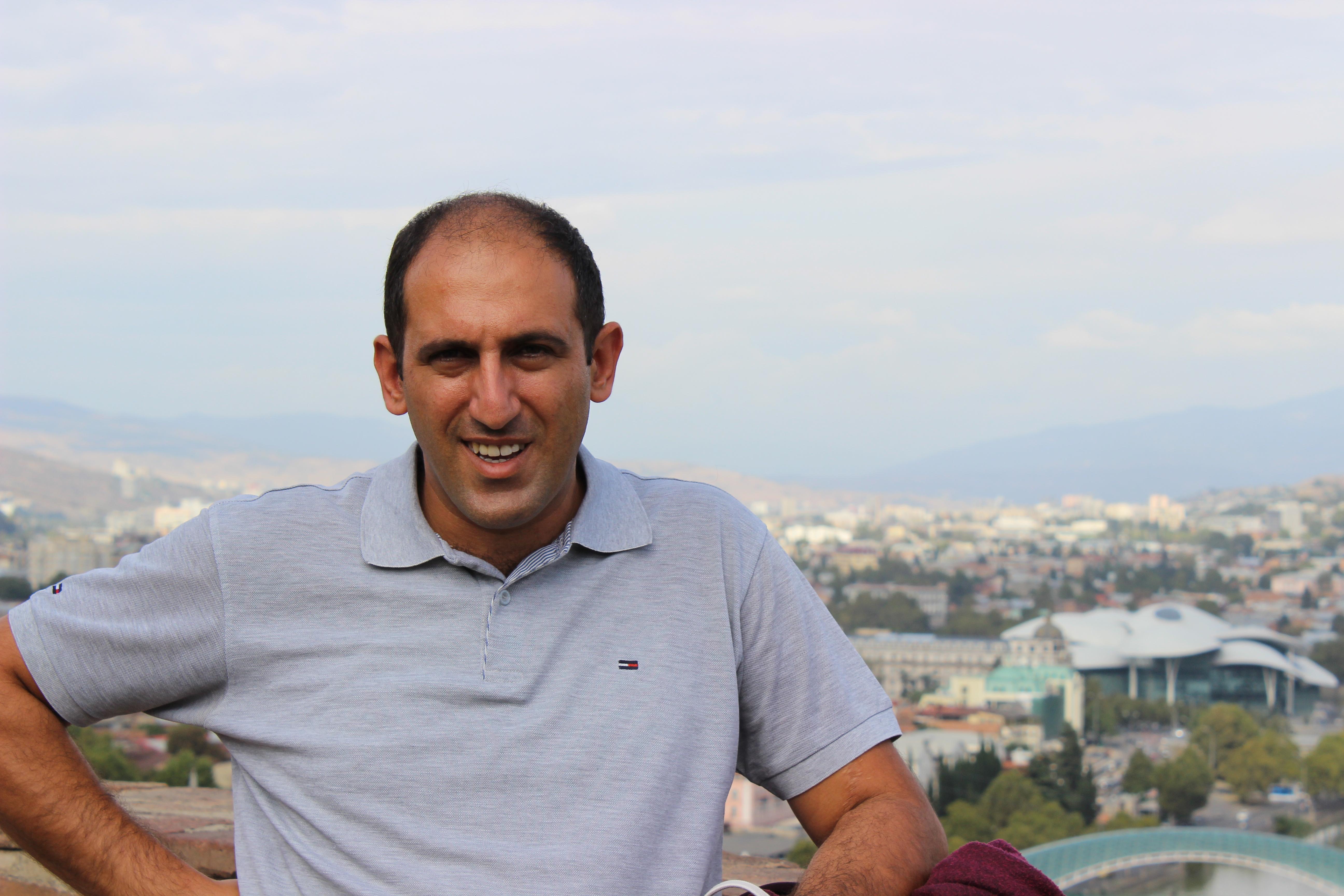 Частный гид экскурсовод по Еревану Levon