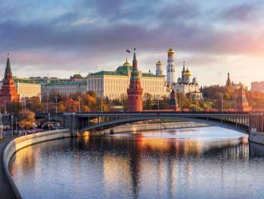 Обзорные и тематические экскурсии в городе Москва