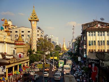 Обзорные и тематические экскурсии в городе Янгон