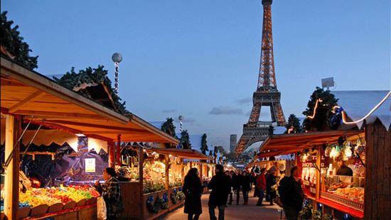 В Париж за новогодними подарками
