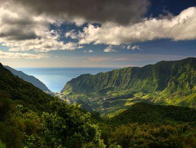 Первозданная природа западной Мадейры
