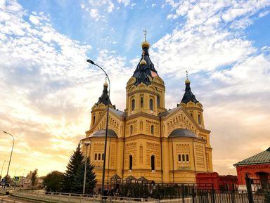 Велопрогулка вокруг Нижегородской ярмарки и Мещерского озера