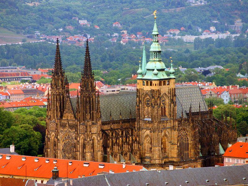 Прага пешком и на автобусе: 4 часа, 1 любовь!