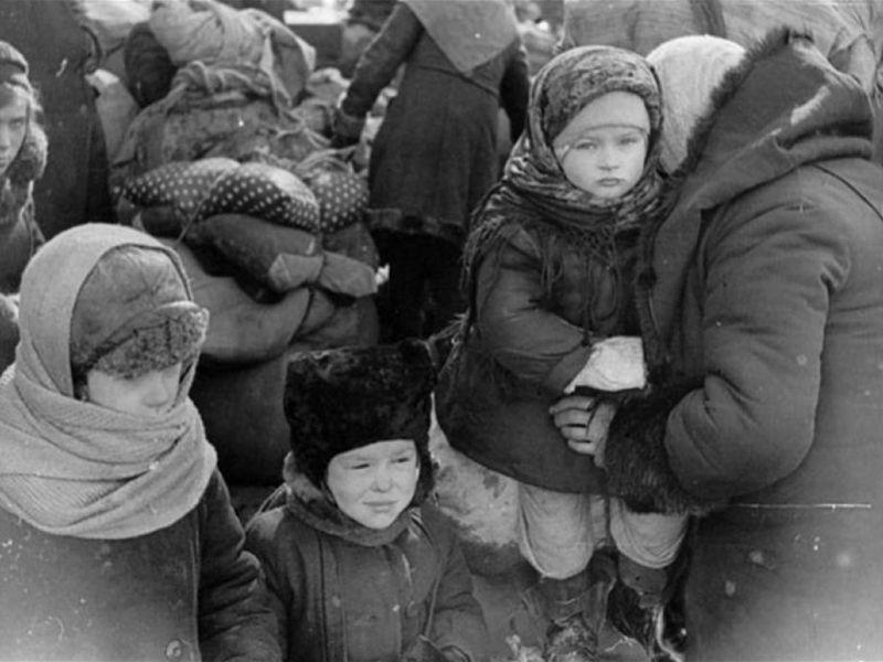 Дети и детство в блокадном Ленинграде