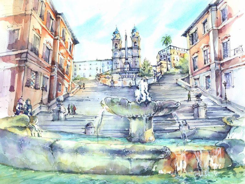 Экскурсия Рим для своих, или что скрывает Вечный город
