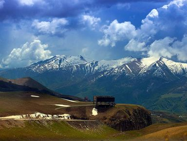 Красоты горной Грузии