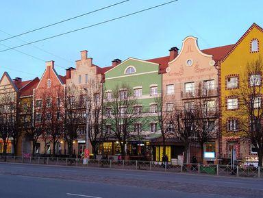 ИзКалининграда— вКёнигсберг поглавным улицам города