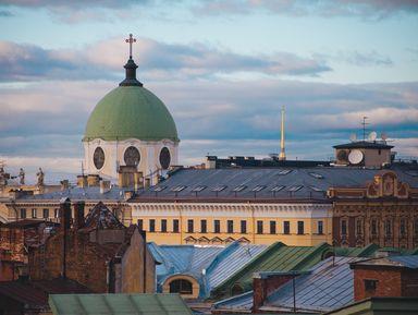 Осенние крыши Петербурга