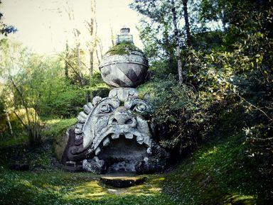 Бомарцо — парк монстров