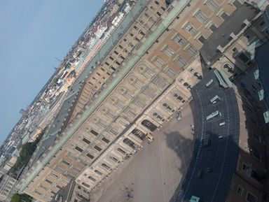 Визит в Королевский дворец Стокгольма