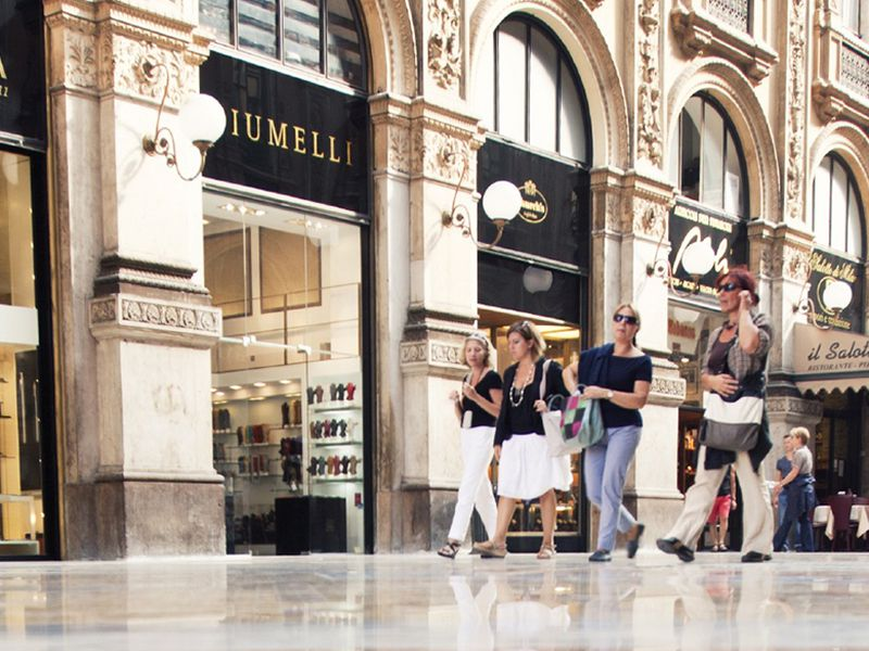 Экскурсия «Золотой квадрат» Милана иНеделя моды