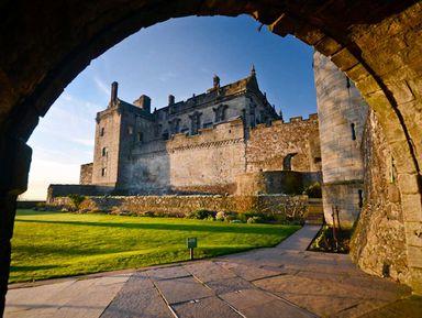 Замок Стирлинг— ключ кворотам Шотландии