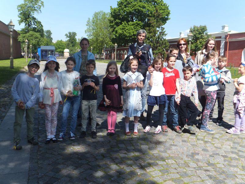 Экскурсия Петропавловская крепость для детей