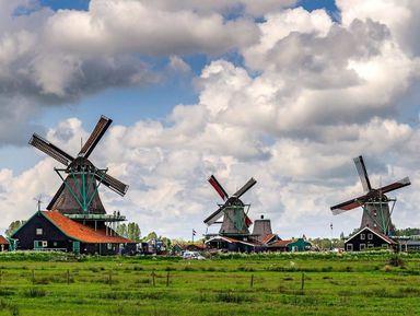 Заансе-Сханс— живая история Нидерландов