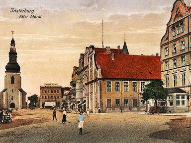 Легенды Черняховска: старинный Инстербург