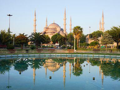 Необычные мечети Стамбула