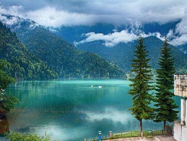 Чары Абхазии: Гагра и озеро Рица