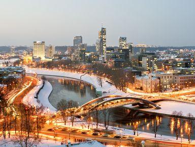 Трансфер + экскурсия поглавным местам Вильнюса