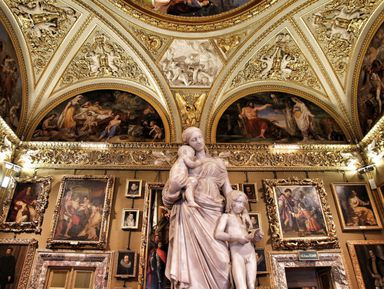 Роскошь и искусство дворца Питти