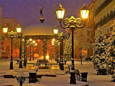 Экскурсия в Бресте: Вечерняя прогулка по новогоднему Бресту