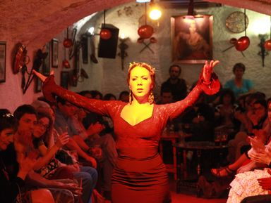 Самобытные уголки Гранады и шоу фламенко