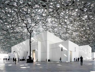 Шедевры Абу-Даби: Лувр и мечеть Шейха Зайда