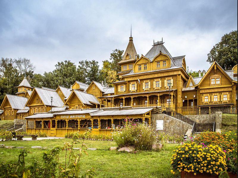 Нижегородская глубинка: Чкаловск, Балахна, Городец