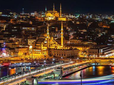 Автобусный тур поночному Стамбулу