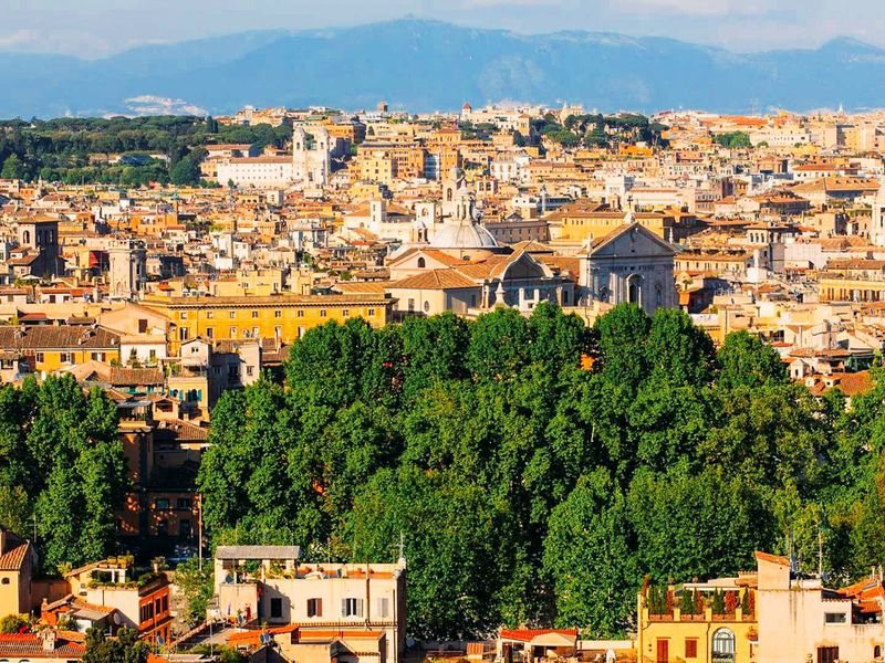 Экскурсия Рим на автомобиле в лучах заката