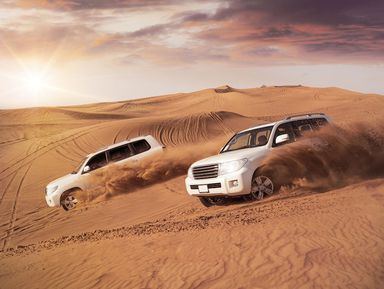 Все развлечения Аравийской пустыни