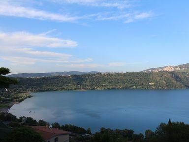 По берегу озера Албано к тайнам затонувших кораблей