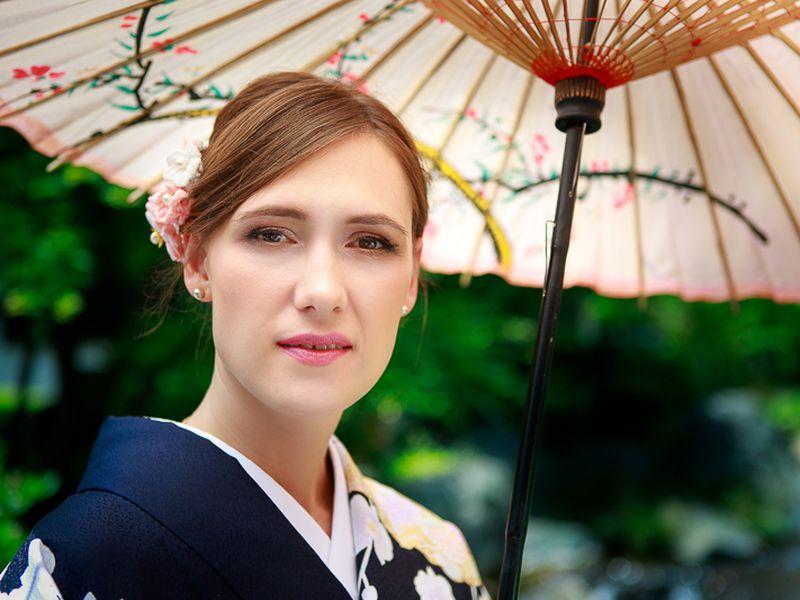 Фотопрогулка в кимоно