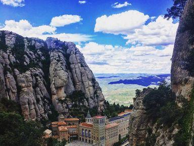 Гора Монсеррат и винный дом Торрес
