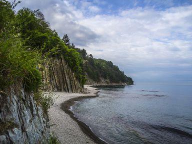 Природные символы Туапсе: скала Киселёва и лесопарк Кадош