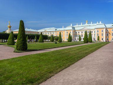 """Экскурсия """"Великолепный дворец Петергофа"""": фото"""