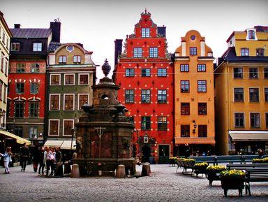 Ежедневная прогулка по Стокгольму