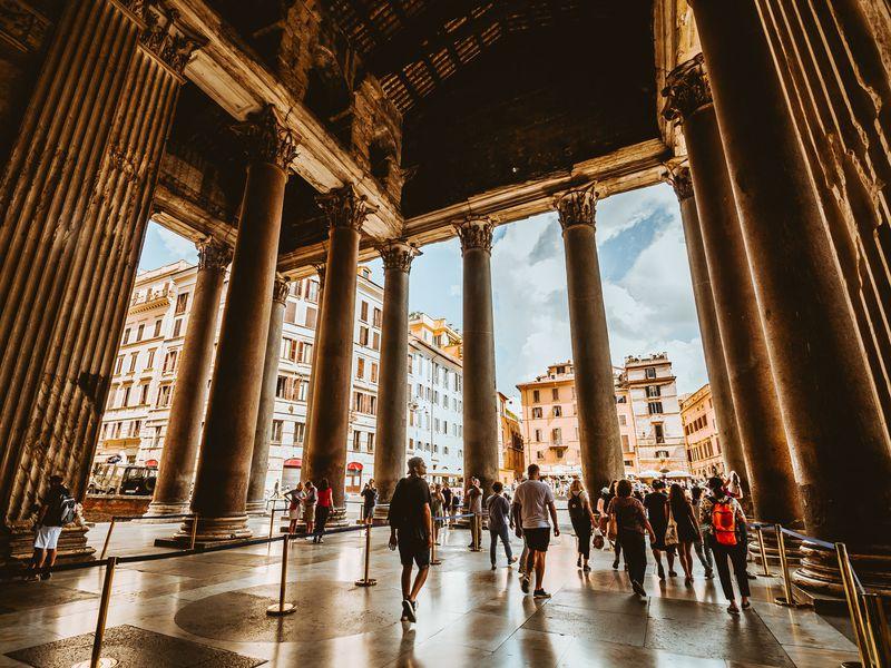 Волшебство вечернего Рима