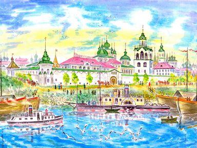 Семейная квест-прогулка по Ярославлю