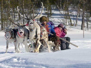 Традиции древней саамской деревни