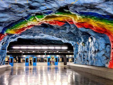 Мир подземного Стокгольма
