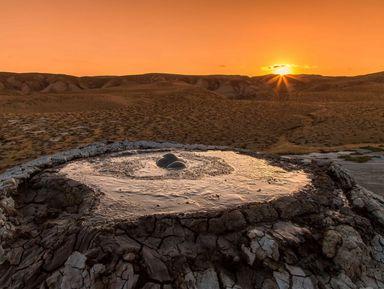 Грязевые вулканы инаскальные рисунки Гобустана